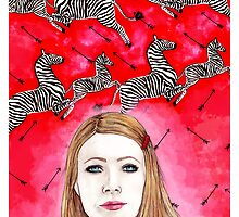 The Royal Tenenbaums - Margot Tenenbaum by MichelleEatough