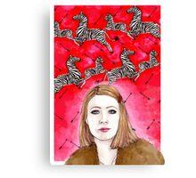 The Royal Tenenbaums - Margot Tenenbaum Canvas Print