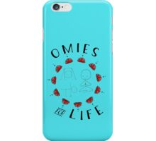 Omies for Life - Yoga Apparel iPhone Case/Skin