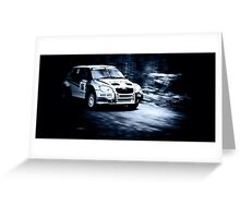 Autosport by BeDoubleYou Greeting Card