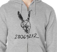 Donnie Darko Numbers Zipped Hoodie
