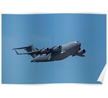 C17 Military Transport Poster