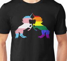 Gay Trans Pride Unicorns Unisex T-Shirt