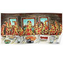 Pizza Last Supper Poster
