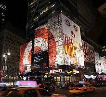 42nd Street, New York City by karasutherland