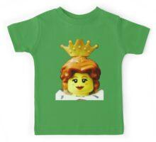 Lego Queen minifigure Kids Tee