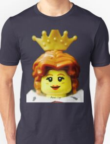 Lego Queen minifigure Unisex T-Shirt