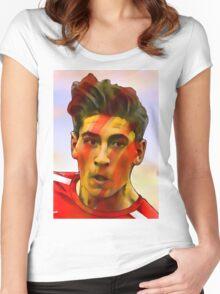 Hector Bellerin Women's Fitted Scoop T-Shirt