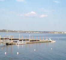 Maine Dock Sticker