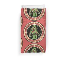 Bad Mofo from Outer Space Vintage Duvet Cover
