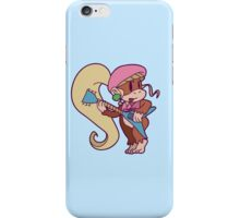 Cute Guitarist Dixie Kong iPhone Case/Skin