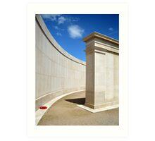 The National Memorial Arboretum Art Print