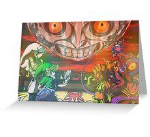 Legend of Zelda Majoras Mask Greeting Card