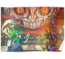 Legend of Zelda Majoras Mask Poster