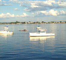 Boats in Maine Sticker