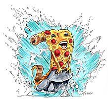 Pizza that world Photographic Print