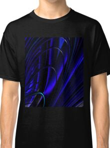 BLUE RING ABSTRACT Classic T-Shirt