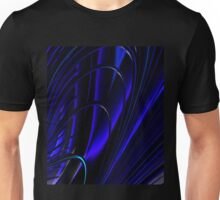 BLUE RING ABSTRACT Unisex T-Shirt