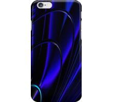 BLUE RING ABSTRACT iPhone Case/Skin