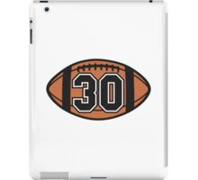 Football 30 iPad Case/Skin