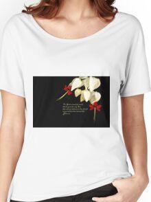 Bleeding Heart and Prayer Women's Relaxed Fit T-Shirt