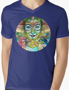 She Thought She Was Small and Trapped, but She Was Not. Mens V-Neck T-Shirt