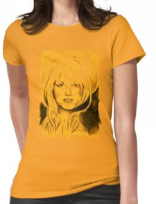 Brit in Antic Shade Womens Fitted T-Shirt
