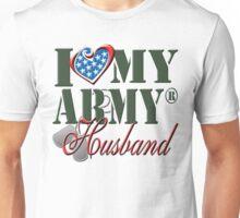 I Love My Army Husband Unisex T-Shirt
