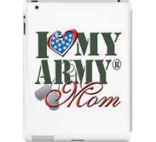 I Love My Army Mom iPad Case/Skin