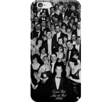 The Shining Overlook Hotel July 4th Ball Black and white iPhone Case/Skin