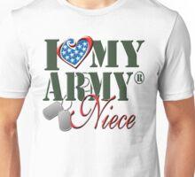 I Love My Army Niece Unisex T-Shirt