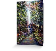 SPRING - ROMANTIC LANDSCAPE Greeting Card