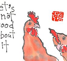 Brooding Hens (v.1) by dosankodebbie