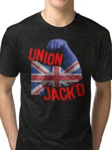 Union Jack'd Tri-blend T-Shirt