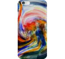 Water Color Disaster iPhone Case/Skin