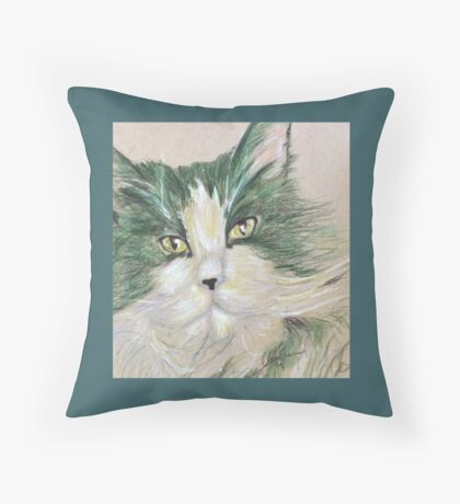 Pop Cat Series 04 Throw Pillow