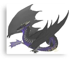 Soundwave Dragon Canvas Print