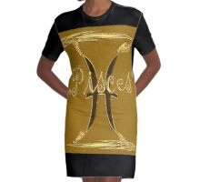pisces, zodiac sign Graphic T-Shirt Dress