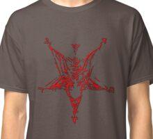 Satan version 2 - The Hidden Goat  Classic T-Shirt