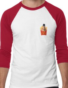 Cara Delevingne Fries Men's Baseball ¾ T-Shirt