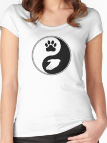 Universal Animal RIghts Women's Fitted Scoop T-Shirt