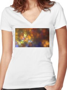 Helio Stars Women's Fitted V-Neck T-Shirt