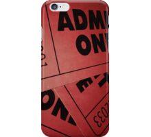 "Film Ticket ""Admit One"" iPhone Case iPhone Case/Skin"