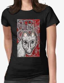 Stop Yulin Womens Fitted T-Shirt
