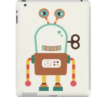 Cute Retro Wind-up Robot Toy iPad Case/Skin
