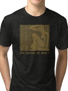 The Sisters Of Mercy - The Worlds End - Alice Tri-blend T-Shirt