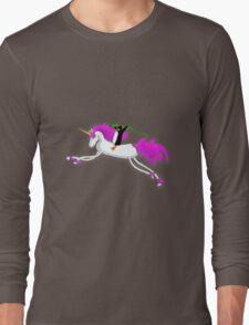 Unicorn Panguin Long Sleeve T-Shirt