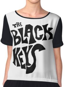 the black keys symbol Chiffon Top