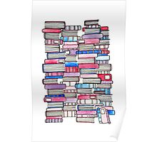 Pink Library Poster