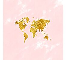 Blush World Photographic Print